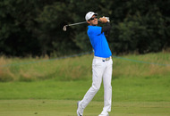 Michael Hoey closing in on leader Dylan Frittelli at NI Open