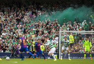 Brendan Rodgers pleased with Celtic display in defeat by Barcelona