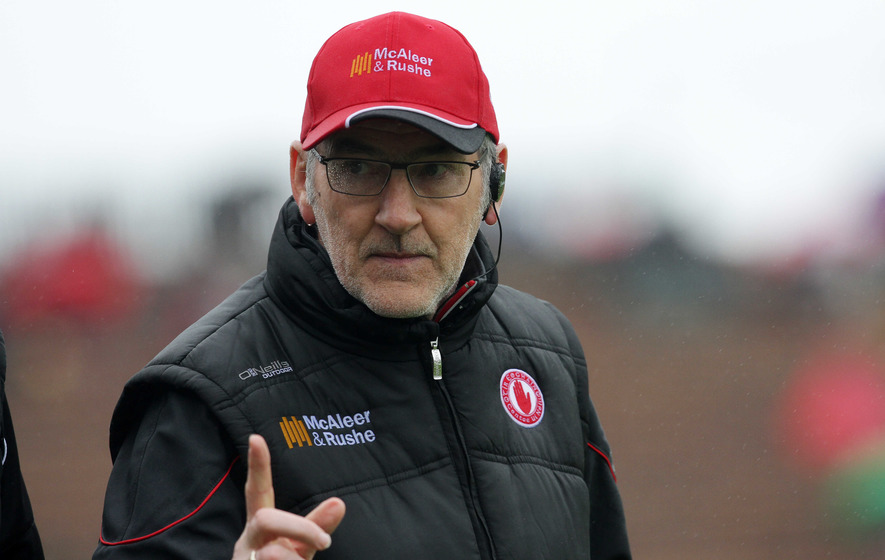 Bin the black card - Mickey Harte