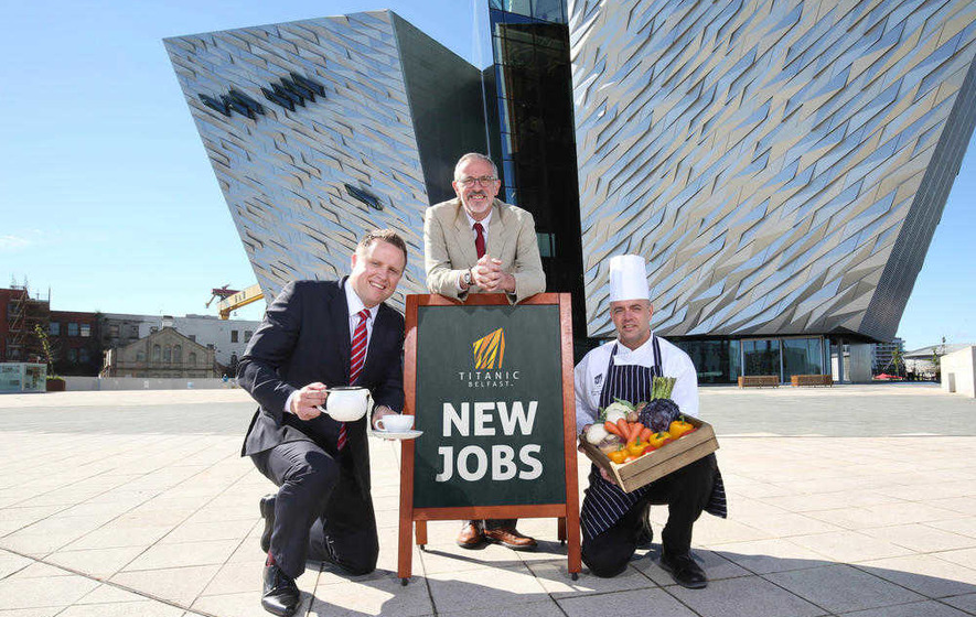 Titanic Belfast serves up 30 new hospitality jobs