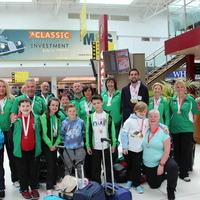 Transplant Games athletes return home to Northern Ireland
