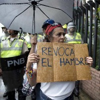 Opponents of Venezuelan president Nicolas Maduro in drive to force him from office