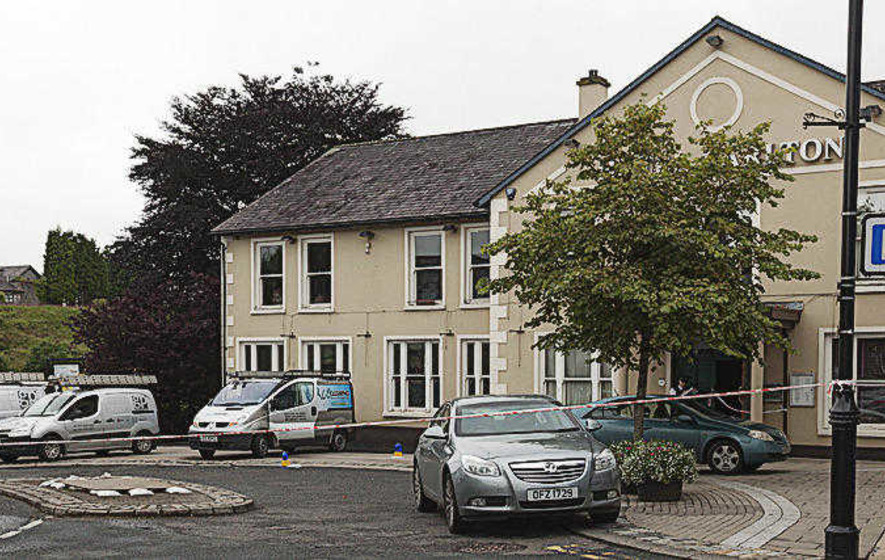 Gun attack on contractor van at Co Fermanagh hotel