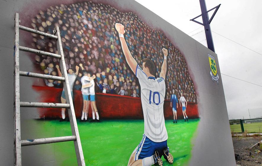 GAA club paints mural in memory of Aaron Devlin