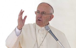 'Children should not be taught that they can choose gender,' says Pope Francis