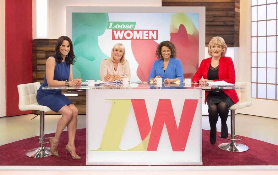Tearful Hewson announces she's leaving Loose Women