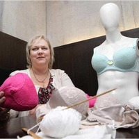 Knitted Knockers to help breast cancer survivors feel 'normal'