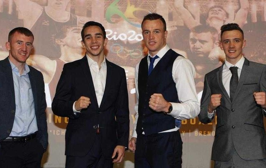 Ready, steady, Rio: Irish boxers get ready to roll at Olympics