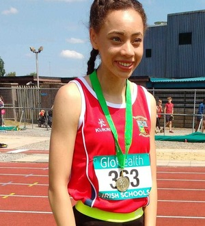 Beechmount Harriers could have star in Davicia Patterson