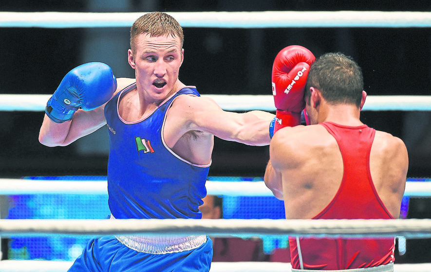 Irish boxer failed doping test before Rio departure