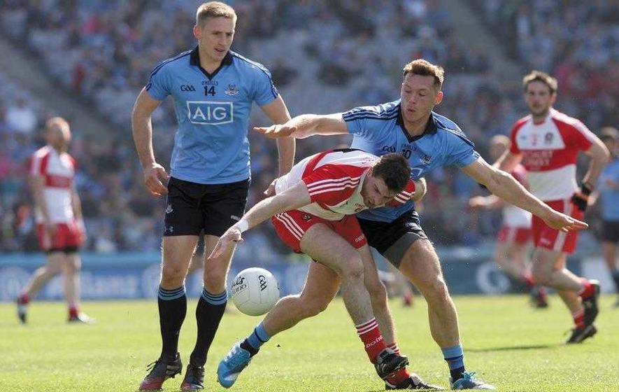 Glenullin star Gerard O'Kane steps down from Derry duty
