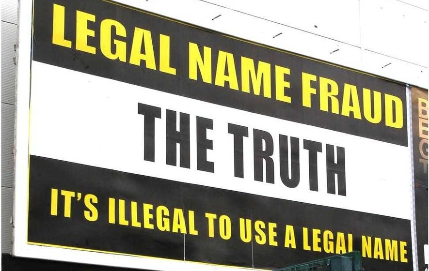 'Truth' behind bizarre billboards is 'bunkum'
