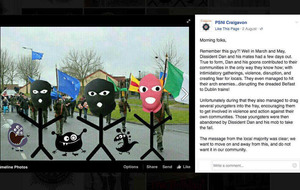 PSNI Facebook Dissident Dan posts 'wholly inappropriate'