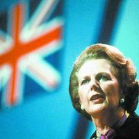 PSNI silent on removing Margaret Thatcher sign