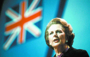 PSNI silent on removing Margaret Thatcher sign