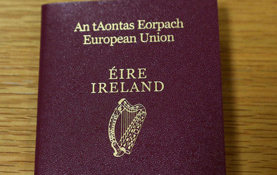 Applications For Irish Passports In The North Up By 60 The Irish News