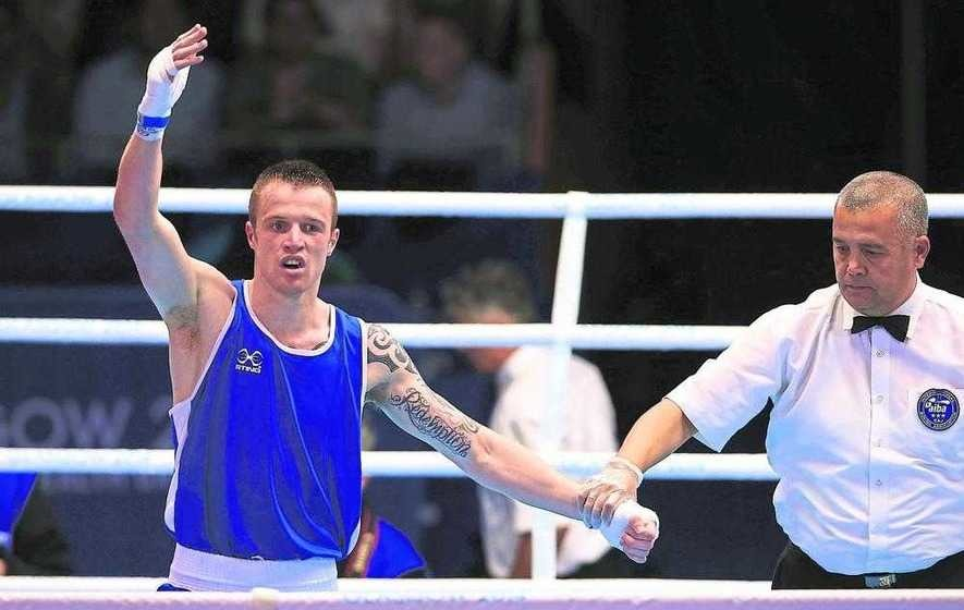 Steven Donnelly into Olympic welterweight quarter-finals