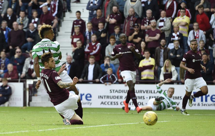 Scott Sinclair kicks off his Celtic career in style