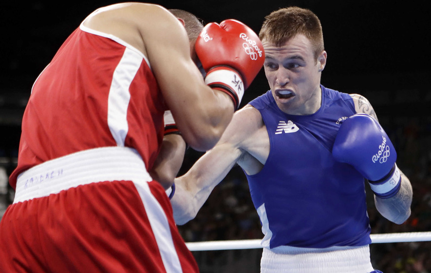 Steven Donnelly gets Irish boxers back on track