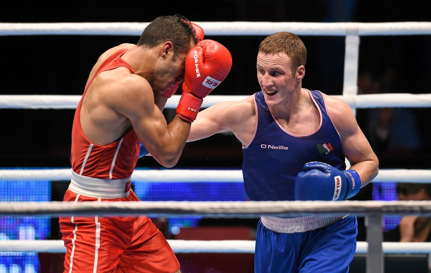 Olympics-Irish fighter fails dope test ahead of Rio Games