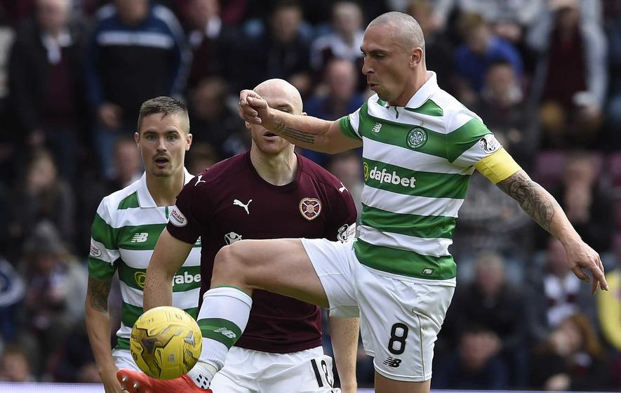 Scott Brown calls Jamie Walker a 'cheat' as Celtic beat Hearts