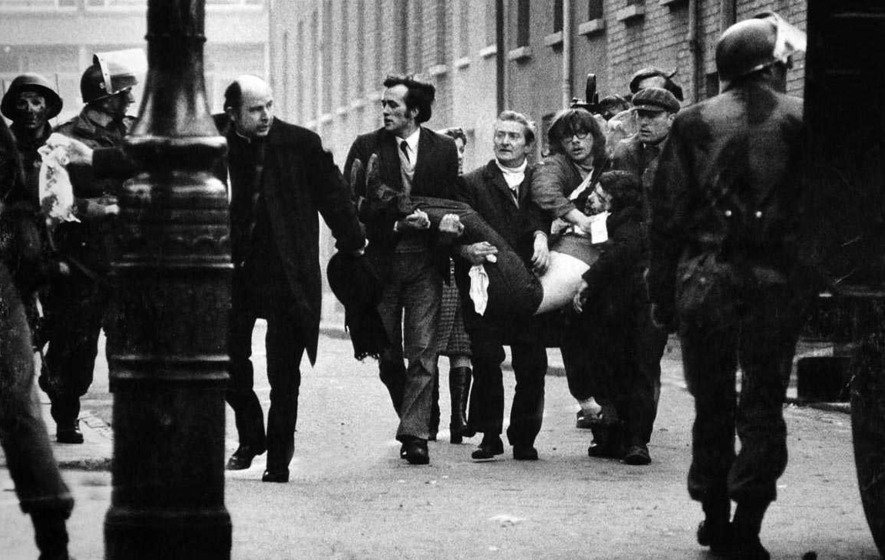 Dr Edward Daly, former bishop of Derry, speaks on Bloody Sunday