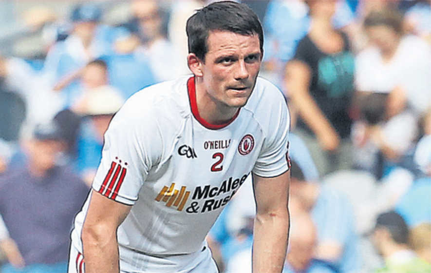 Tyrone's luck was out, says Aidan McCrory