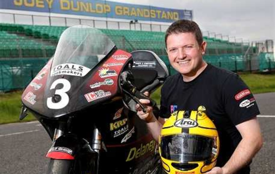 Gary Dunlop looking forward to debut at Dad Joey's 'favourite' Dundrod circuit
