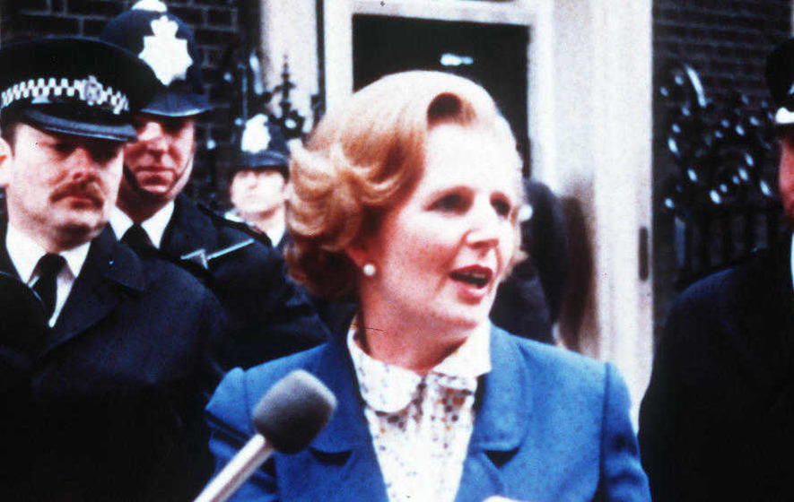 PSNI breaks silence on removal of Margaret Thatcher sign