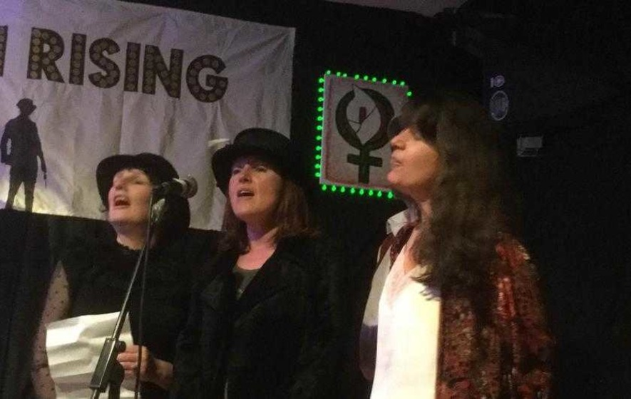 A female rebellion creates new Easter Rising cabaret