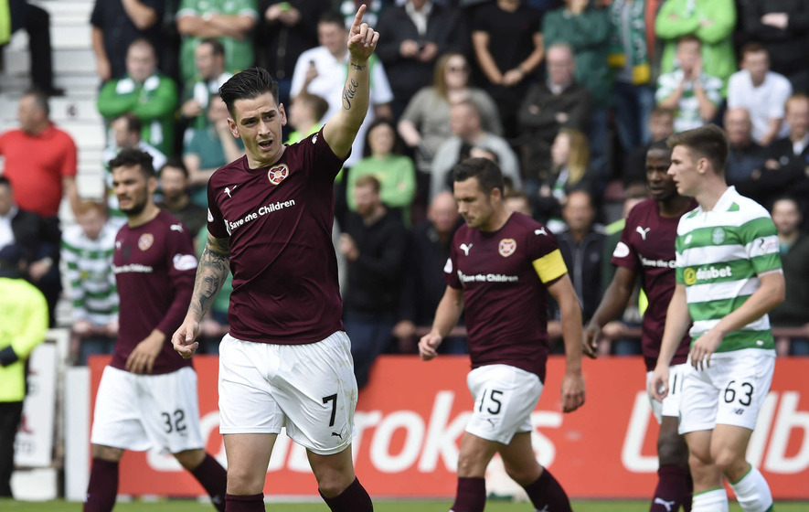 Hearts to challenge Jamie Walker's ban for diving