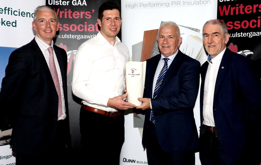 Tyrone's Sean Cavanagh named UGAA writers' winner for July