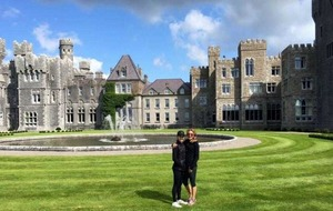 Desperate Housewives star Felicity Huffman enjoys the delights of Co Mayo