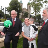 8ft high peace wall dividing north Belfast communities to come down