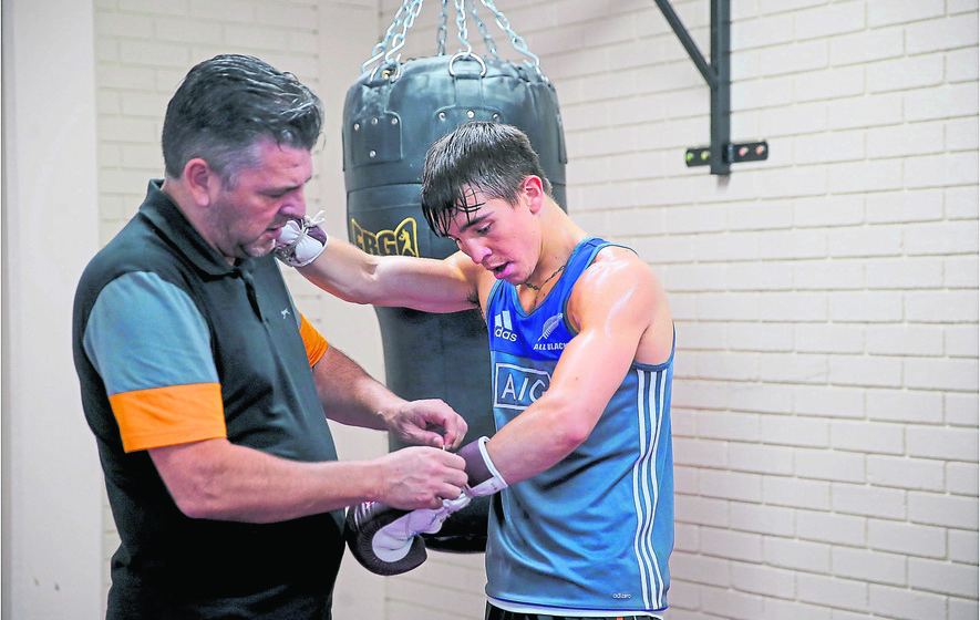 Family first for Michael Conlan as he targets Olympic gold