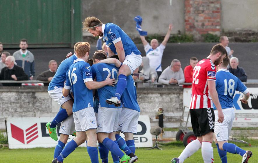 League of Ireland Premier Division: Finn Harps 0-5 Derry City