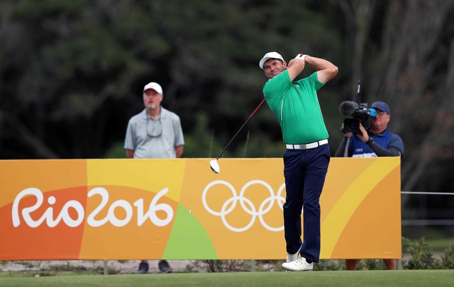 Padraig Harrington laps it up in Rio