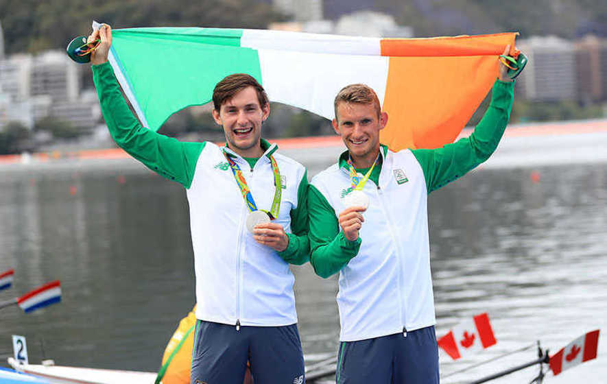 Team Ireland wins first Olympic medal