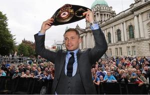 Carl Frampton vows to become Irish champ at three weights