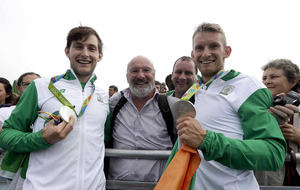Irish Olympic medallists hits both on and off the water