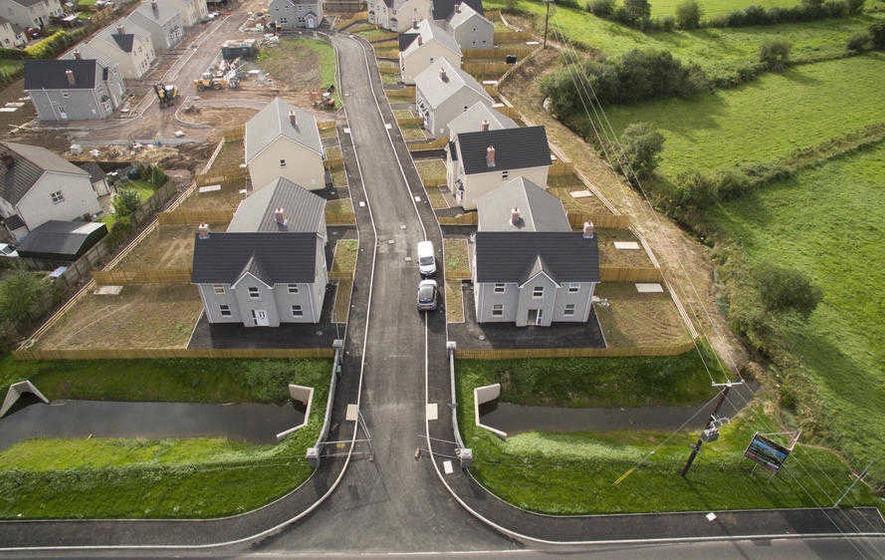 Firm Building Coalisland Moat And Bridge 39 Houses Also
