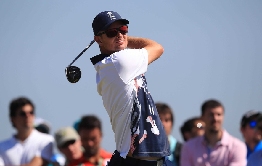 Justin Rose and Henrik Stenson battle for Olympic gold in Rio