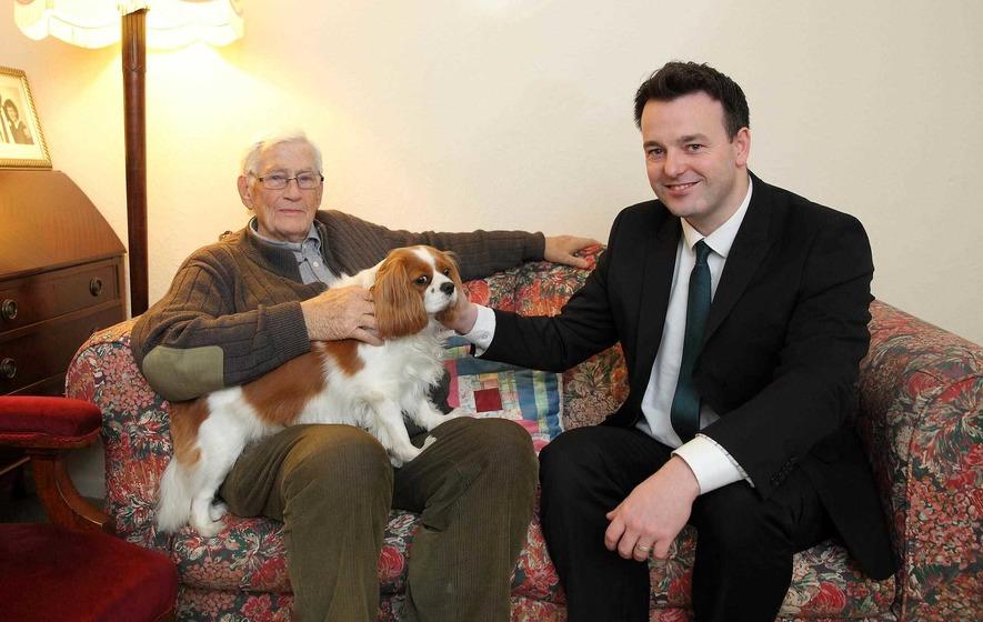 Plain speaking Seamus Mallon marks a milestone birthday
