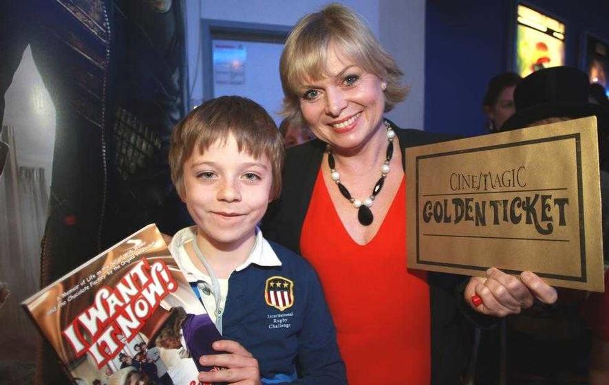 Julie's just the ticket for Cinemagic Belfast