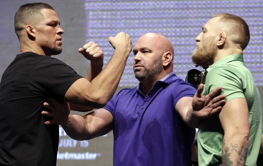Conor McGregor vows to be ruthless in rematch with Nate Diaz