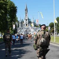 Security tight as pilgrims head for Lourdes shrine