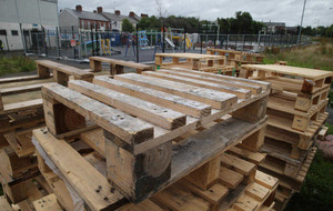 £6k spent moving play equipment away from loyalist bonfire
