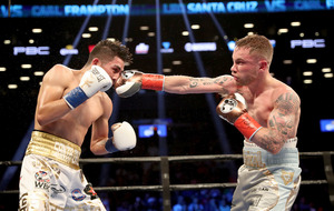 Carl Frampton wants to fight in Belfast 'at least once a year'