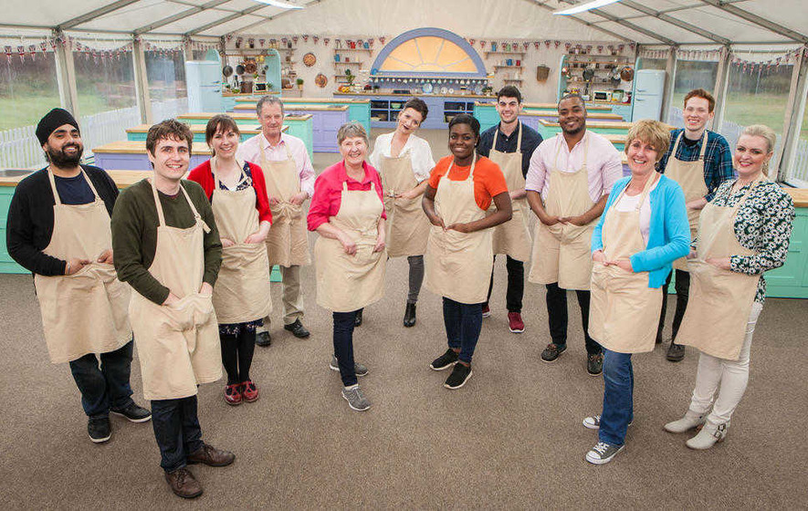 Louise crumbles under pressure of biscuit week in great british bake off