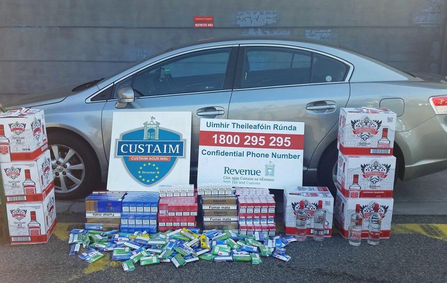 Bootleg booze and cigarettes seized in Dublin raids